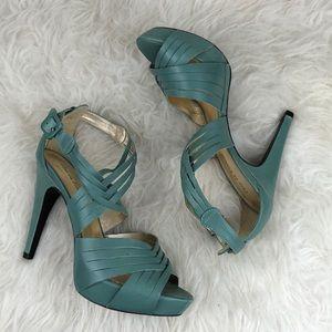 """Pour La Victoire """"Dominique"""" Woven Platform Heels"""